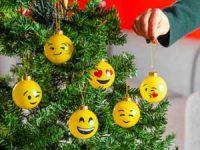 Spralla® smiley-julekuler 6-pakning Image