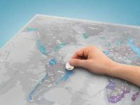 Scratch Map Platinum Image