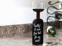 Vinglassflaske Image