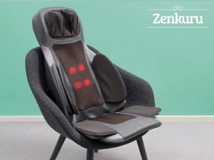Deilig ryggmassasje med varme - Zenkuru® Massasjesete Image