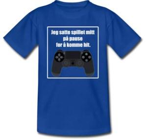 T-skjorte til gamer / barn Image