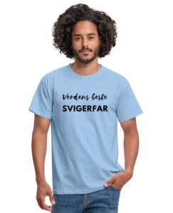 T-skjorte - Verdens beste svigerfar Image