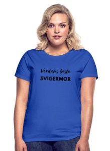 T-skjorte - Verdens beste svigermor Image