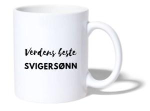 Kopp - Verdens beste svigersønn Image