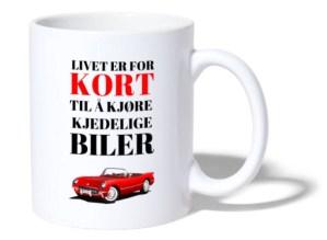 Kopp - Livet er for kort til å kjøre kjedelige biler Image