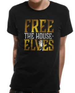 Harry Potter T-skjorte Free the House Elves Image