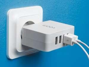 Vooni® USB-lader med fire porter Image