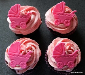 kage baby shower, baby shower cupcakes opskrift, baby shower kage pynt, baby shower kagepynt, Mad og kage til baby shower