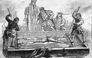 BALCÃO DE TORTURA - Santa Inquisição - tortura medieval