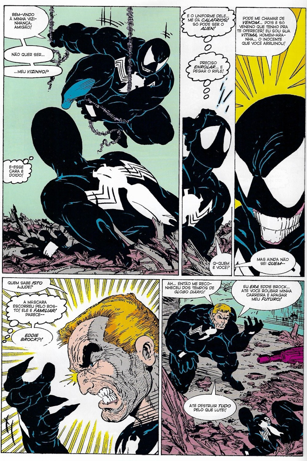 Venom Homem Aranha Spider Man Marvel Amazing Spider Man #300