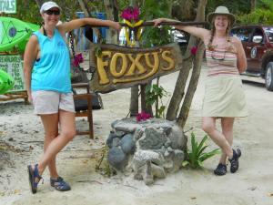K & J at Foxys