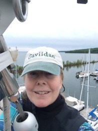 June 16 Selfie at the top of the mast