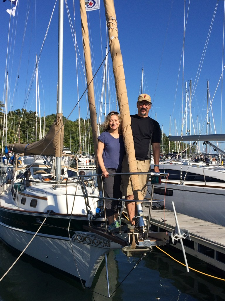 September 27 Mark and Jeanne - Sailors!