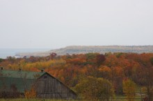 October 12 Fall colors on Manitoulin Island