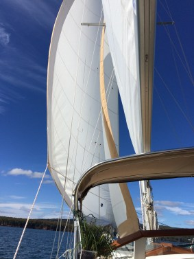 October 4 Last sail of the 2015 season