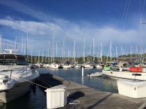 September 18 Sailboats rule in Bayfield