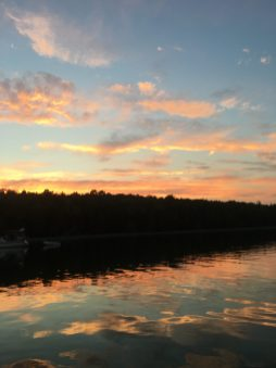 August 4 Sunset over Harbour Island