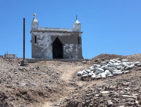 April 20 A small chapel on Isla Coyote