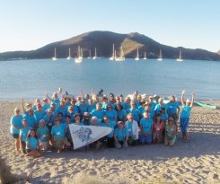 April 21 Women who Sail at San Evaristo