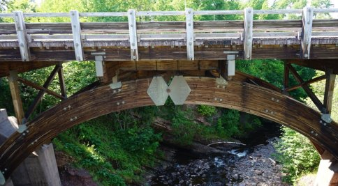 June 24 Wooden bridge