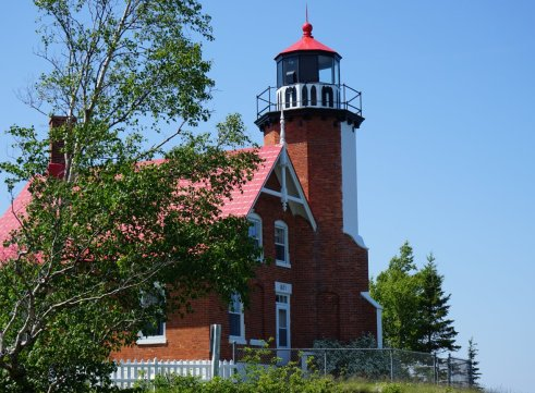 June 24 Eagle Harbor Lighthouse