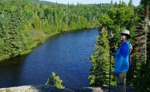 July 20 Overlooking the Gargantua River