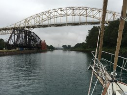 July 24 Approaching the Canadian Lock