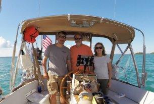 July 31 Mark, Dan, and Jeanne