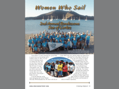 Fall Issue of Cruising Outpost with Julie's WWS article on sailing in the Sea of Cortez