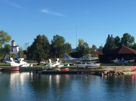 September 9 A flock of Sea Planes at the Killarney Mountain Lodge