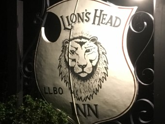 September 12 The Lion's Head Inn