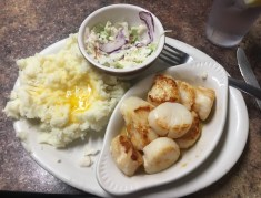 June 13 Awesome scallop dinner in Waterford - $14!