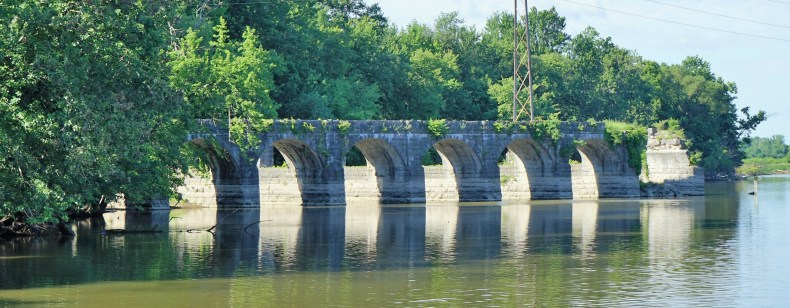 June 25 Richmond Aquaduct on the Erie Canal
