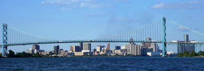 July 15 Detroit Skyline
