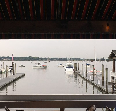 June 4 View of Port Washington harbor from Louie's