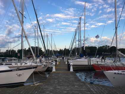 July 28 Bayview to Mackinac Race Boats