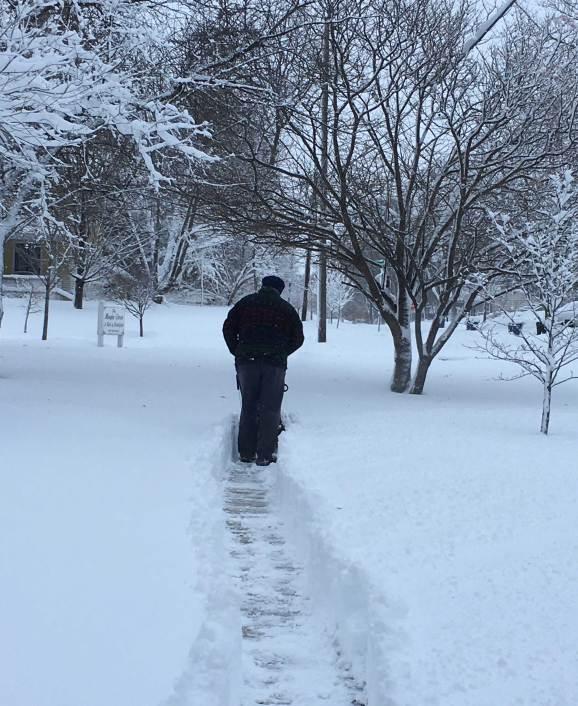January 22 We need a bigger snowblower!