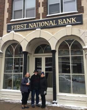January 25 The Northfield Bank (Jesse James Gang fame) with Vicki Jensen