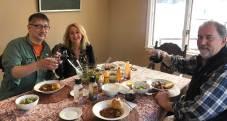 March 31 Pre-opera dinner at the Razidlo home