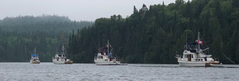 August 5 Grand Banks in West Otter Cove
