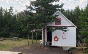 Aug 13 Porphyry Island Boathouse