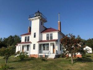 August 22 Raspberry Island Lighthouse