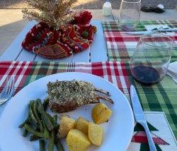Dec 25 Rack of lamb for Christmas dinner
