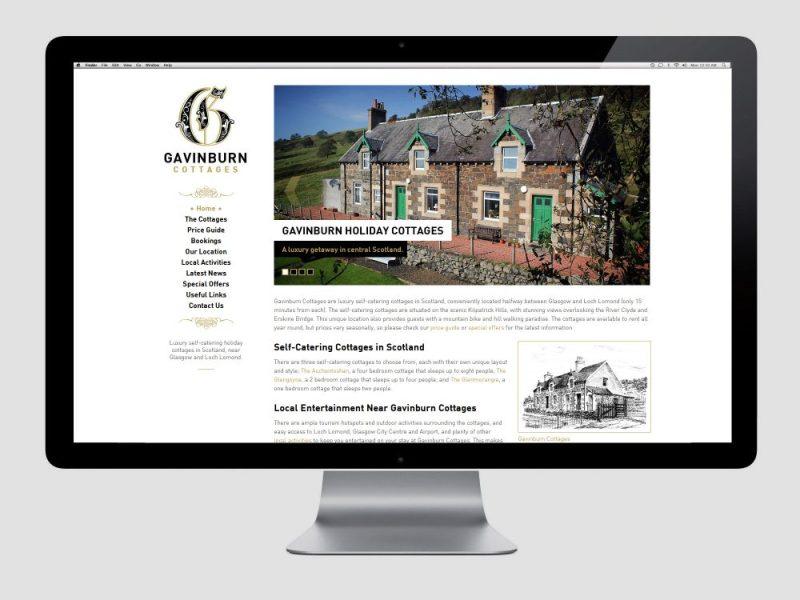Gavinburn Website Screenshot