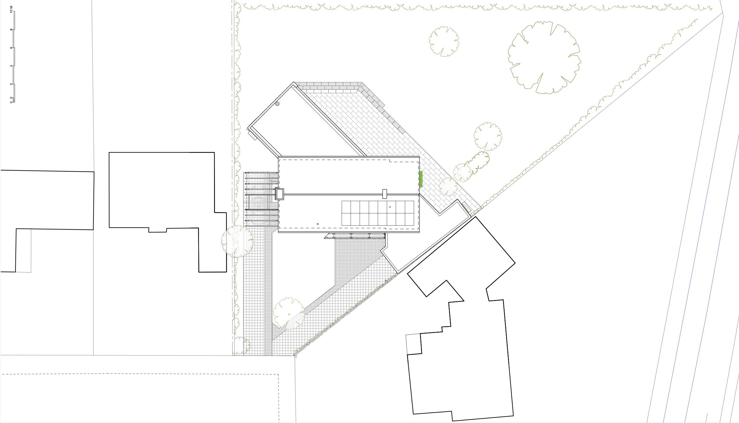Architect, Cambridge, Home design, house, renovation, geometry, porsche, solar, large sliding doors, level threshold, blurring inside outside, garden, big door opening,