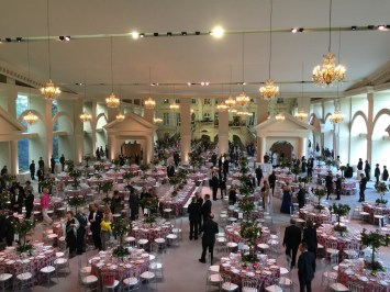 A small dinner for the opening of the new cellars, 2015.