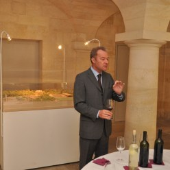 A master at hosting a tasting.