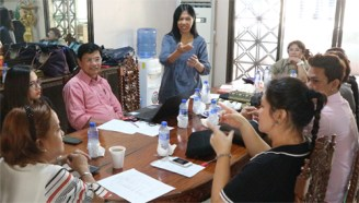 Yvette Apurado, PFD Vice President Reports