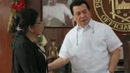 Mrs. Natividad Villano Meets Governor Wilhelmino Sy-Alvarado