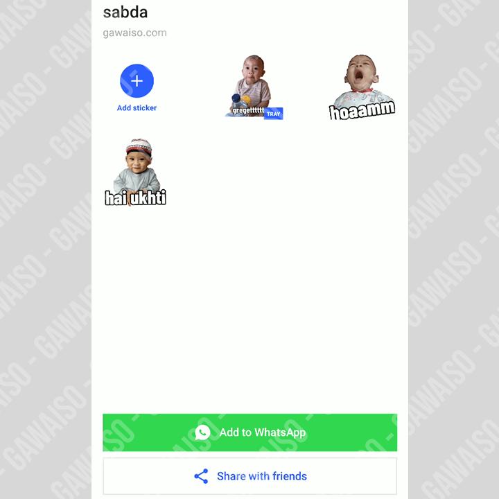 cara menambahkan stiker whatsapp - add to whatsapp